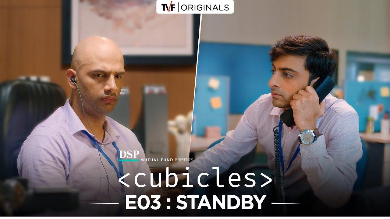 Shivankit Singh Parihar and Abhishek Chauhan in Cubicles (2019)