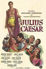 Marlon Brando, John Gielgud, Deborah Kerr, James Mason, Greer Garson, Louis Calhern, and Edmond O'Brien in Julius Caesar (1953)