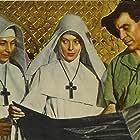 Deborah Kerr, Kathleen Byron, and David Farrar in Black Narcissus (1947)