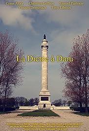 La Dictée à Daru Poster
