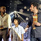 Dulé Hill, James Roday Rodriguez, and Jamani in Psych (2006)