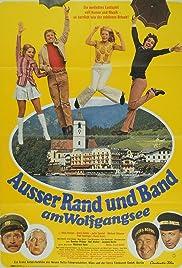 Außer Rand und Band am Wolfgangsee Poster