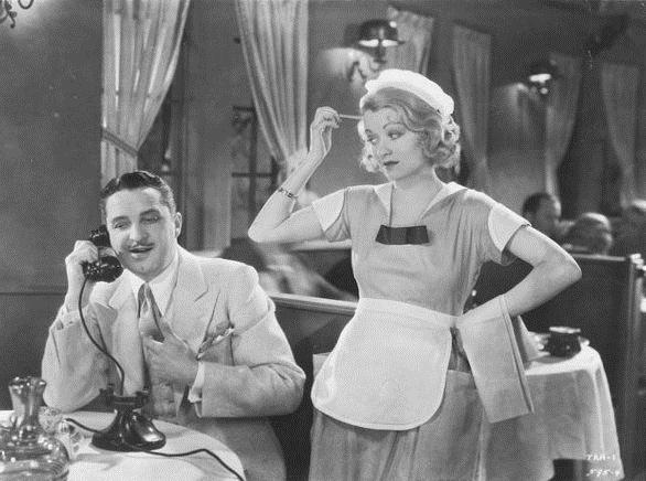 Constance Bennett and Bryant Washburn in What Price Hollywood? (1932)