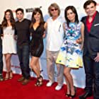 "Walter Perez, Briana Lane, Robert Adamson, Rachel Brooke Smith, Eric Roberts, Christian Serratos and George Caceres at the premiere of ""Pop Star"""