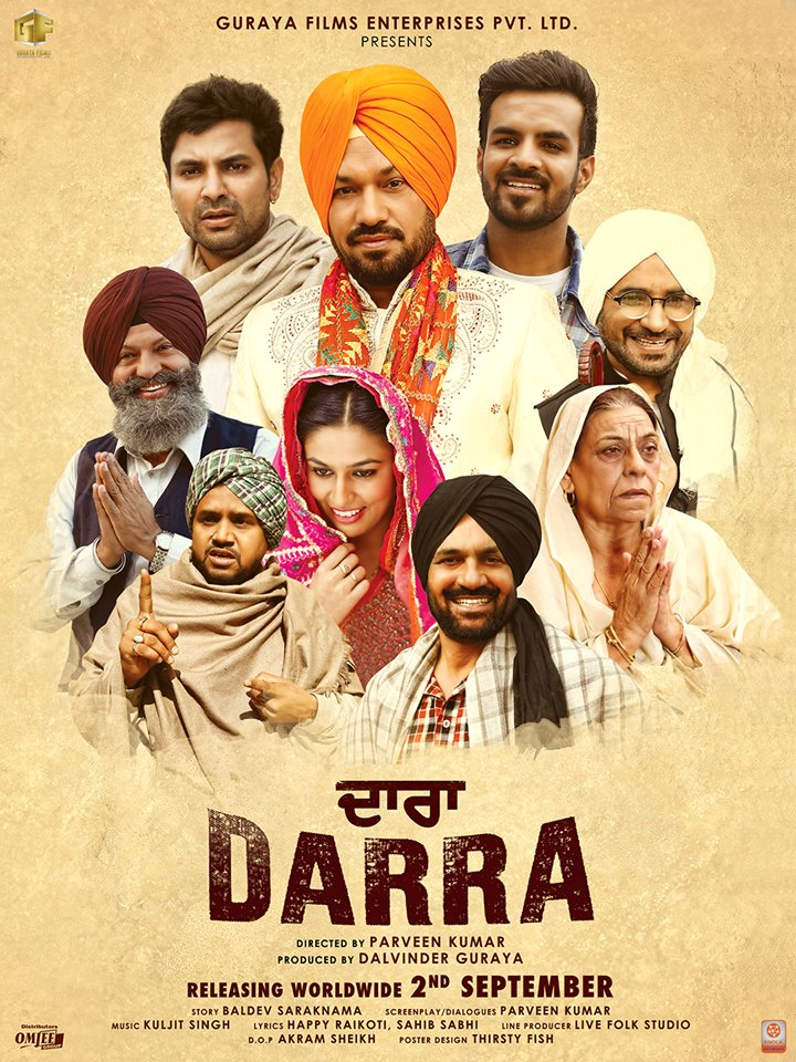 Darra 2016 Punjabi 350MB HDRip ESub Download