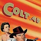 Randolph Scott and Ruth Roman in Colt .45 (1950)