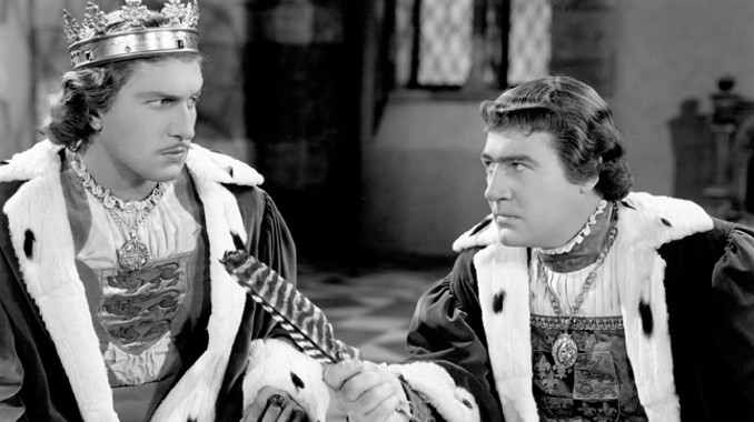 Vincent Price and Ian Hunter in Tower of London (1939)