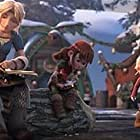 America Ferrera, Liam Ferguson, and Madalyn Gonzalez in How to Train Your Dragon: Homecoming (2019)