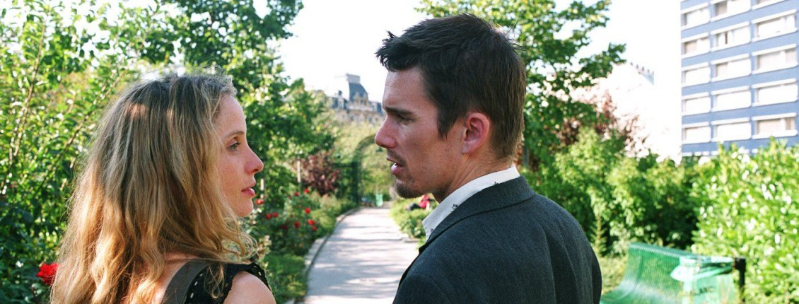 Ethan Hawke and Julie Delpy in Before Sunset (2004)