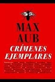 Crímenes ejemplares de Max Aub Poster