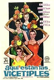 Aquí están las vicetiples (1961)