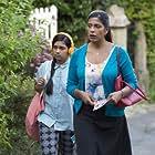 Lolita Chakrabarti and Ria Choony in The Casual Vacancy (2015)