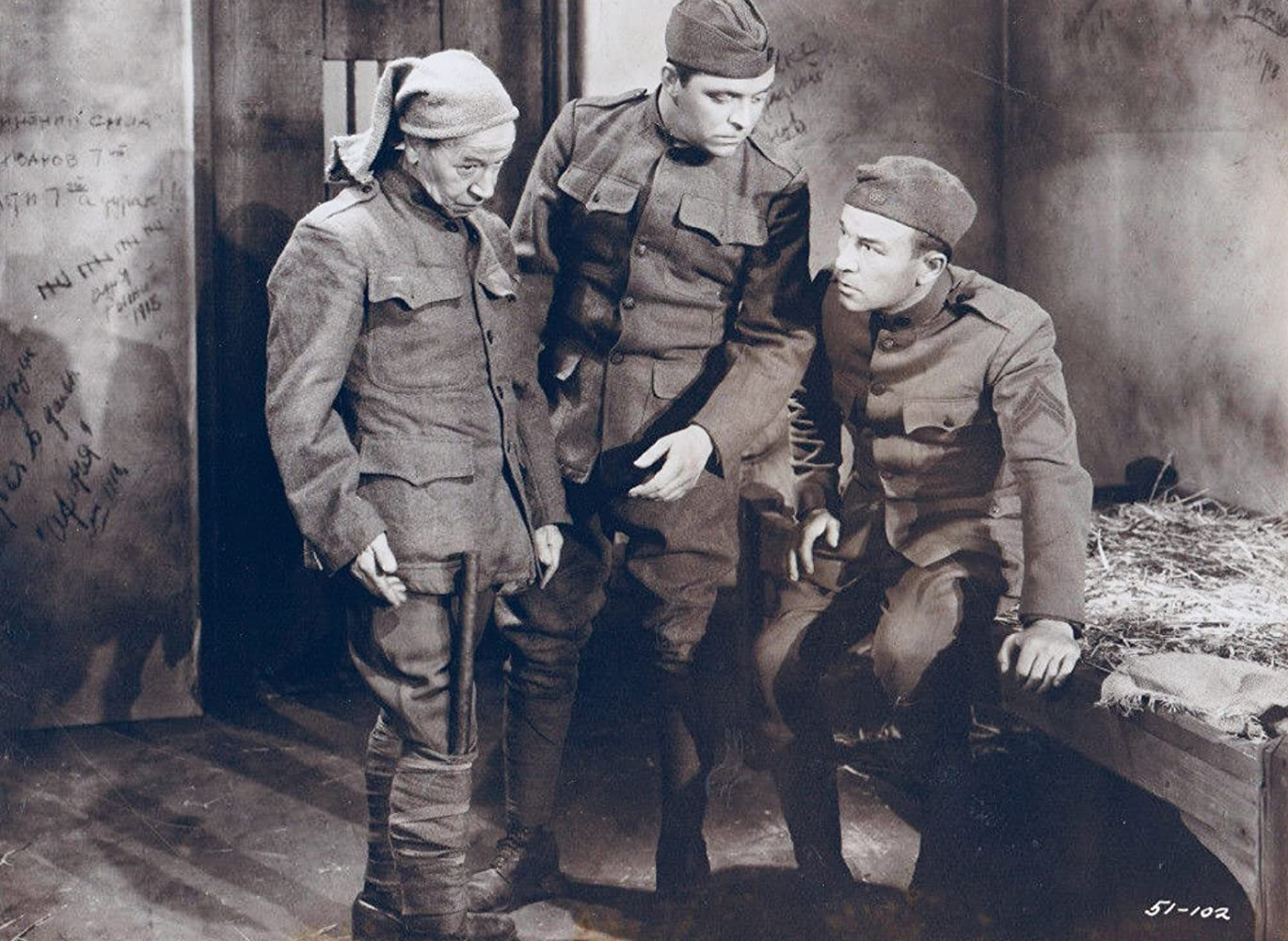 Robert Armstrong, Donald Meek, and Lyle Talbot in Three Legionnaires (1937)