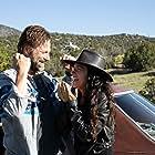Wander - Director April Mullen with Star Aaron Eckhart