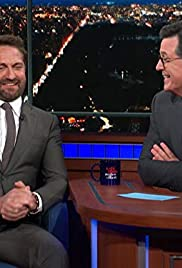 The Late Show With Stephen Colbert Gerard Butlerrowan Atkinsonina