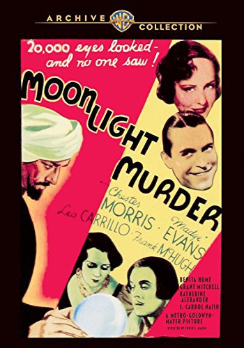 Madge Evans and Chester Morris in Moonlight Murder (1936)
