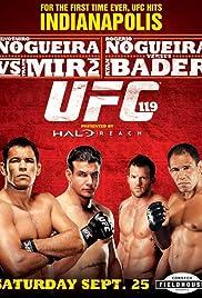 UFC 119: Mir vs. Cro Cop Poster