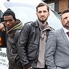 David Beck, Darren James King, Mark Sears, Danny Coakley, and Ian Hawke in I Am Hooligan (2016)