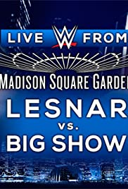 WWE Live From MSG 2015 Poster
