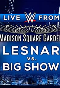 Primary photo for WWE Live from MSG 2015