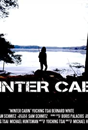 Winter Cabin Poster