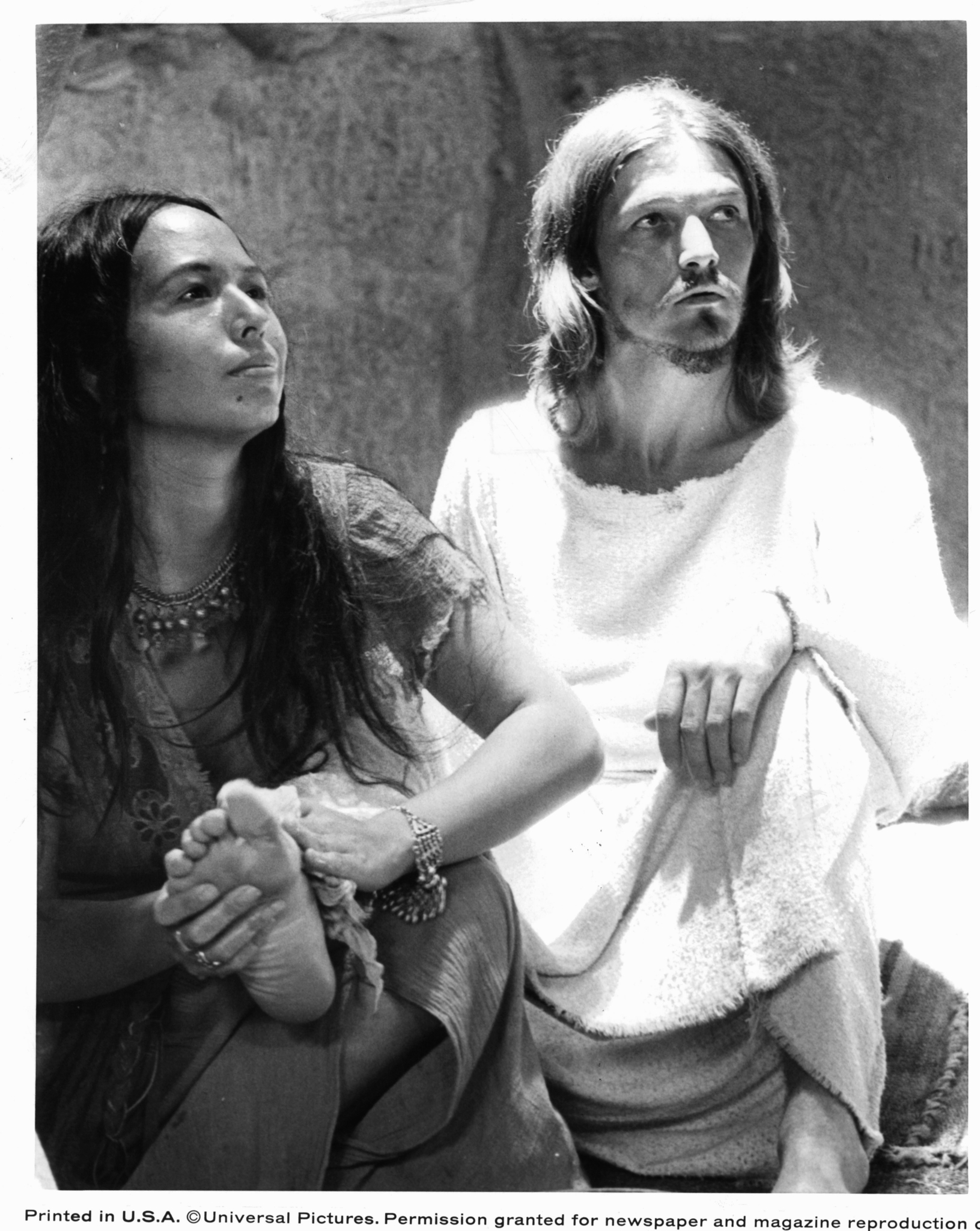 Yvonne Elliman and Ted Neeley in Jesus Christ Superstar (1973)