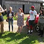 Nico Bryant, Danielle Donahue, Mel Heflin, Marie DeLorenzo, and James Kelly in Return to Splatter Farm (2020)