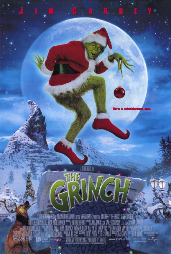 how the grinch stole christmas 2000 - How The Grinch Stole Christmas Jim Carrey