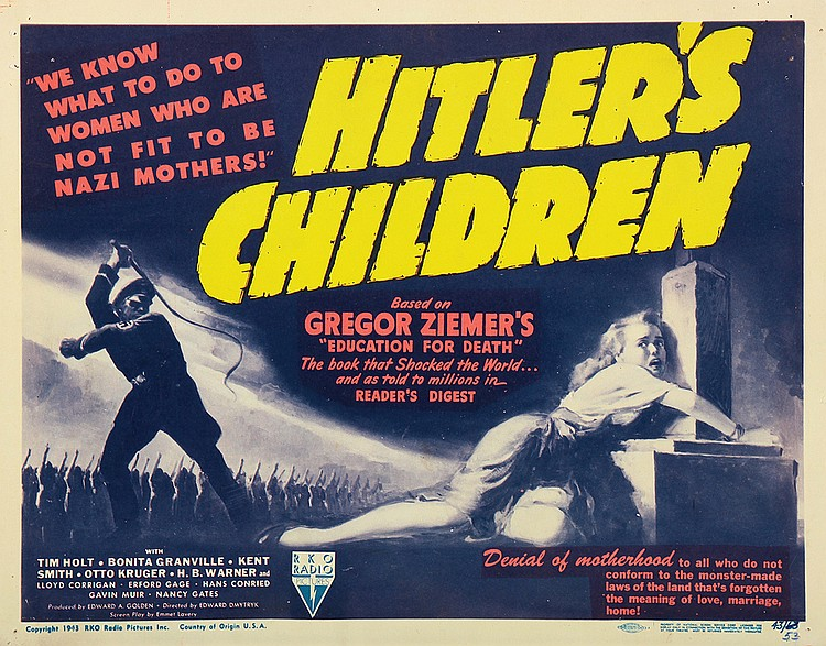 Bonita Granville in Hitler's Children (1943)
