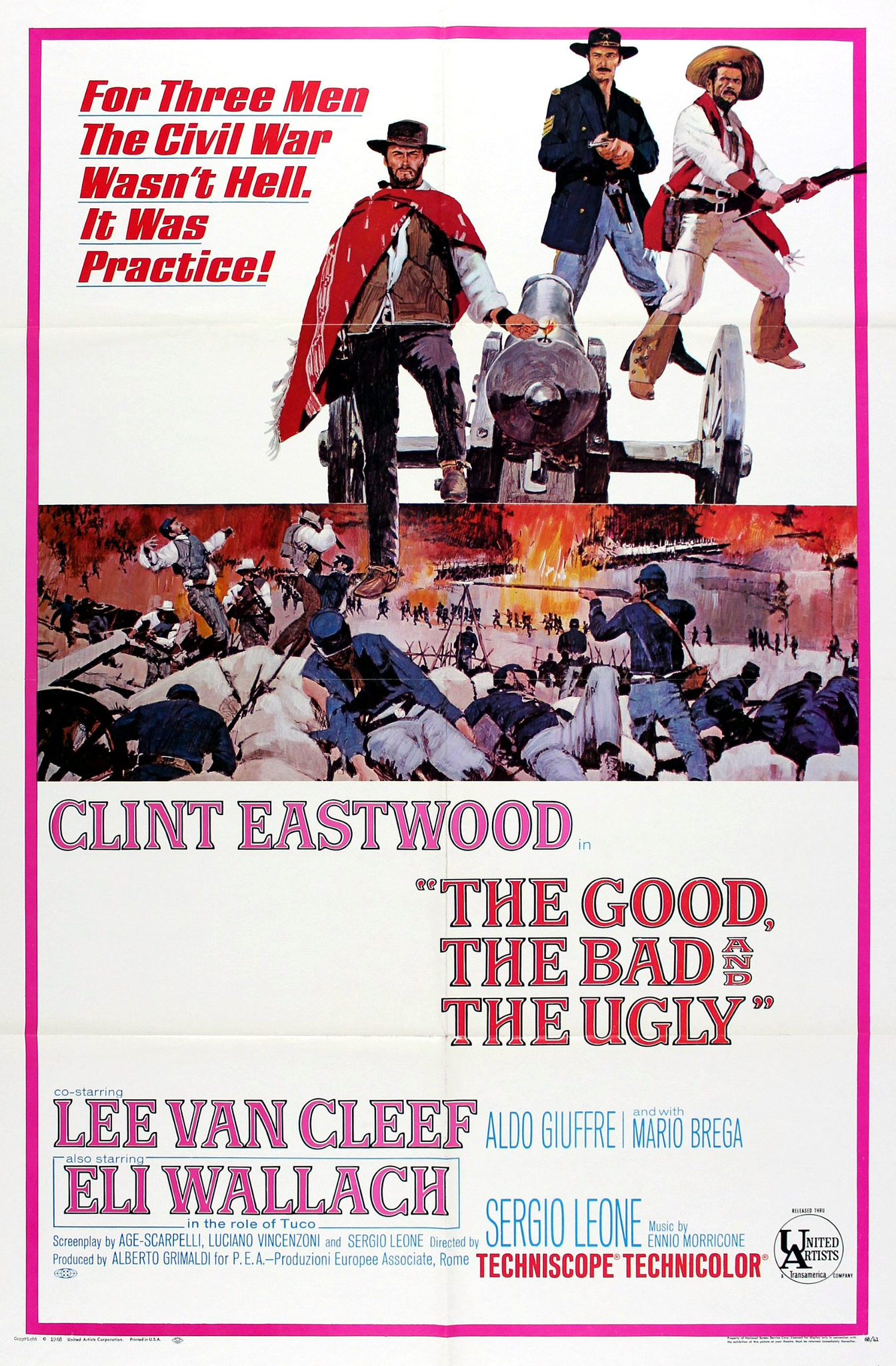 BLOGAS, GERAS IR BJAURUS (1966) / THE GOOD, THE BAD AND THE UGLY