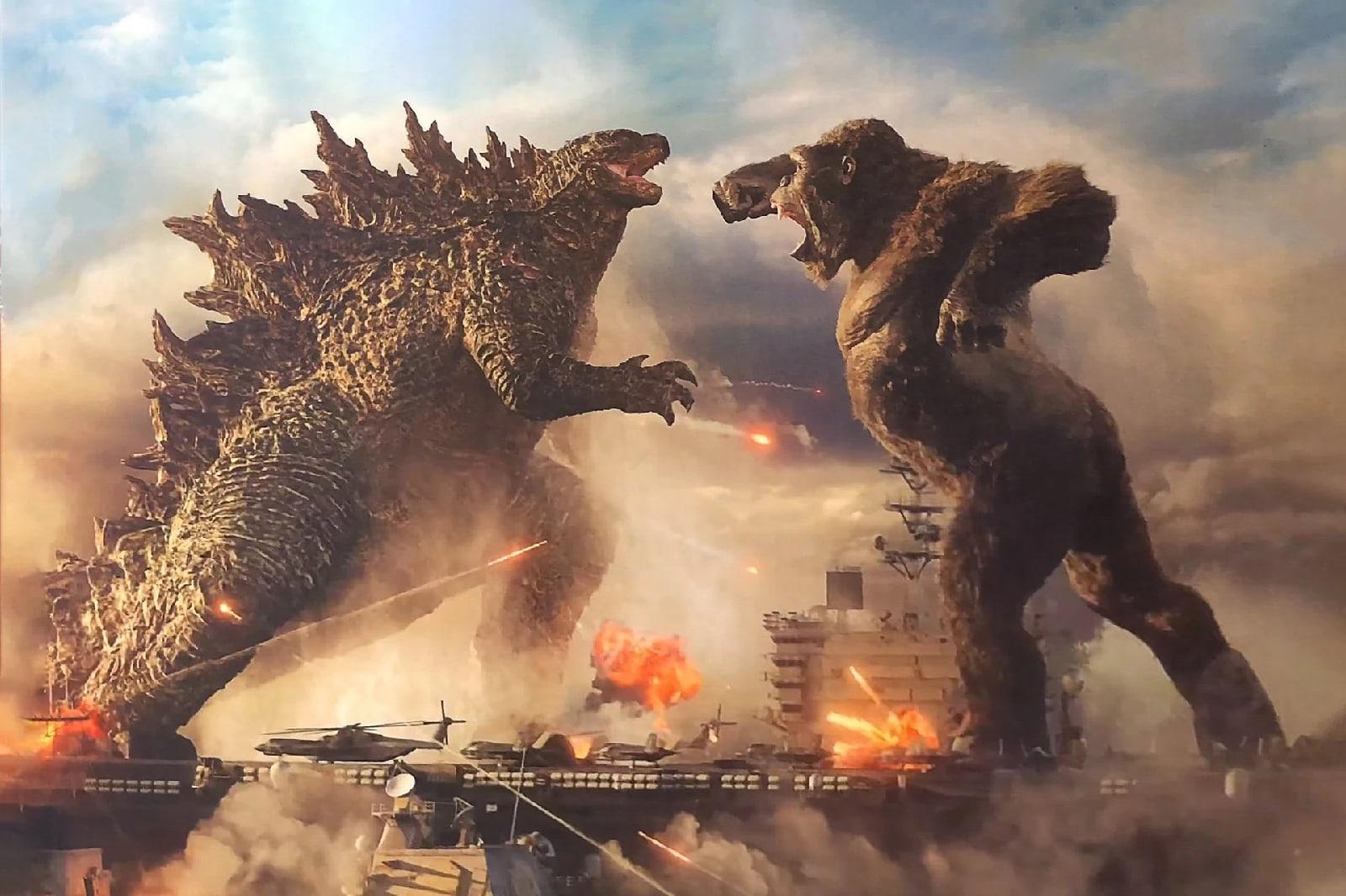 Νωρίτερα θα κάνει πρεμιέρα το Godzilla vs. Kong σε κινηματογράφους και HBO Max