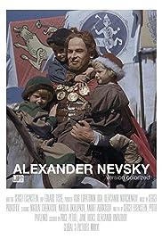 Alexandr Nevsky Poster