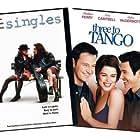 Neve Campbell, Bridget Fonda, Dylan McDermott, and Matthew Perry in Singles (1992)