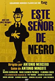 Este señor de negro Poster