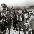 Art Dillard, Kenne Duncan, George J. Lewis, and Chief Thundercloud in The Phantom Rider (1946)