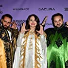 Kareem Tabsch, Alex Fumero, and Cristina Costantini at an event for Mucho Mucho Amor: The Legend of Walter Mercado (2020)