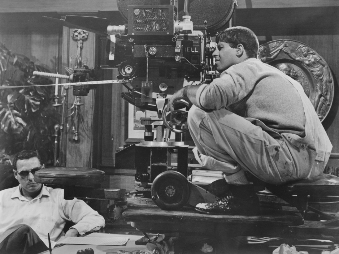 Jerry Lewis in The Errand Boy (1961)
