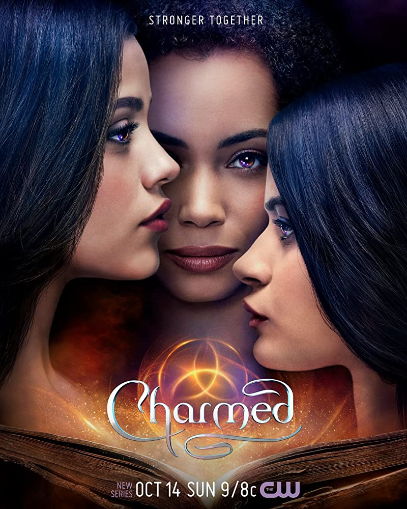 Melonie Diaz, Madeleine Mantock, and Sarah Jeffery in Charmed (2018)