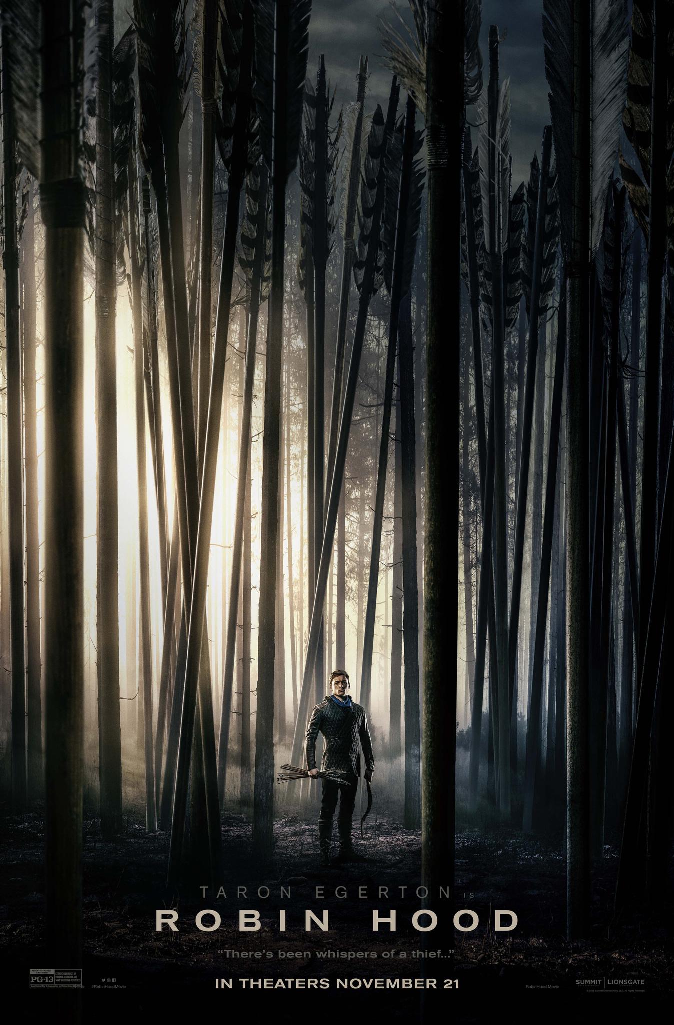 Robin Hood, póster oficial