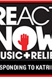React Now: Music & Relief Poster