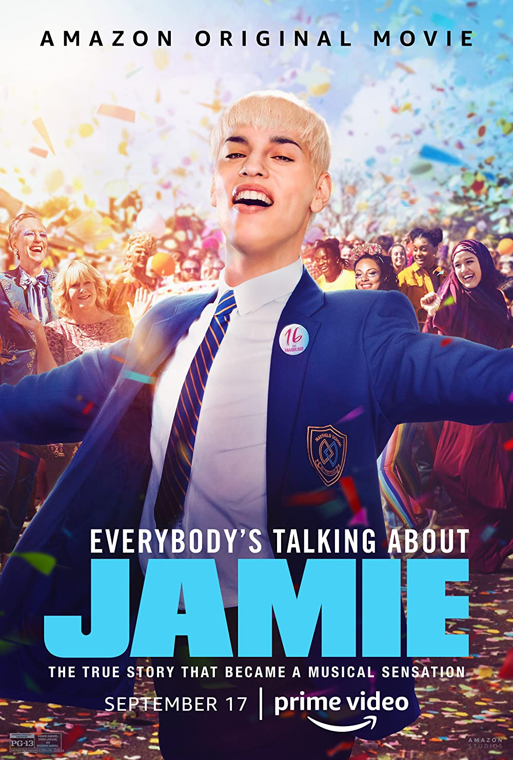 Everybody's Talking About Jamie 2021 Hindi ORG Dual Audio 480p AMZN HDRip 400MB Download