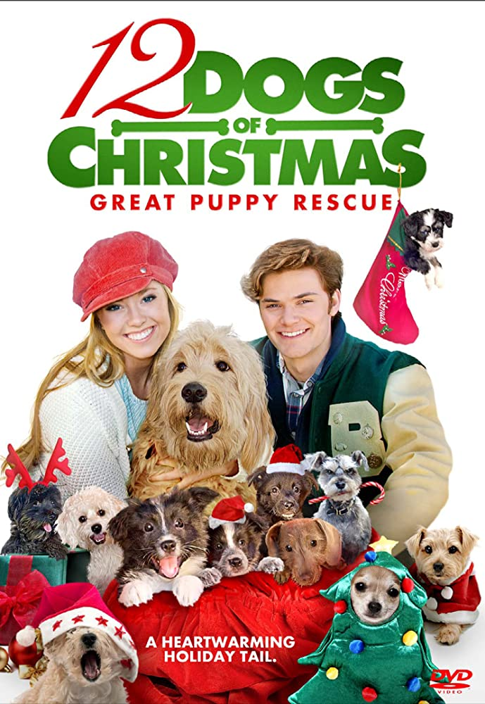 12 Dogs of Christmas: Great Puppy Rescue DVD Cover