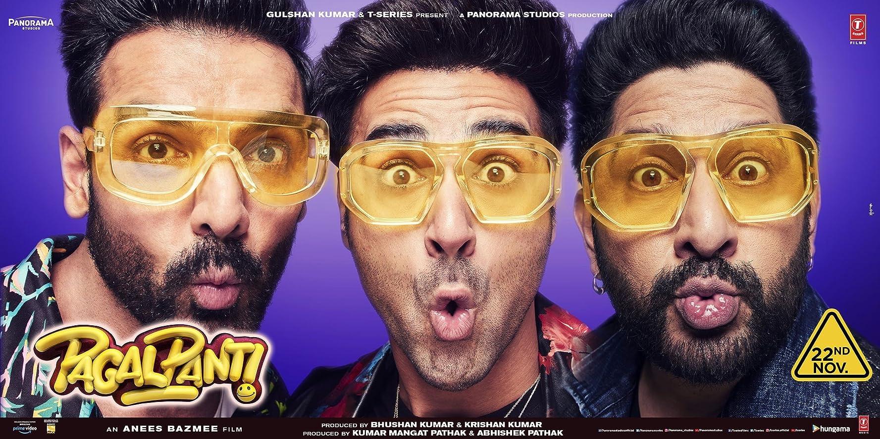 Pagalpanti (2019) Film Indian Online Subtitrat in Romana
