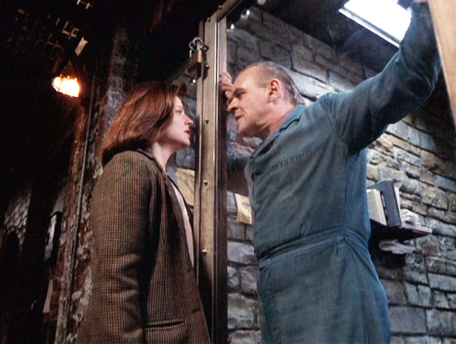 Answer: Dr. Hannibal Lecter in The Silence of the Lambs (1991)