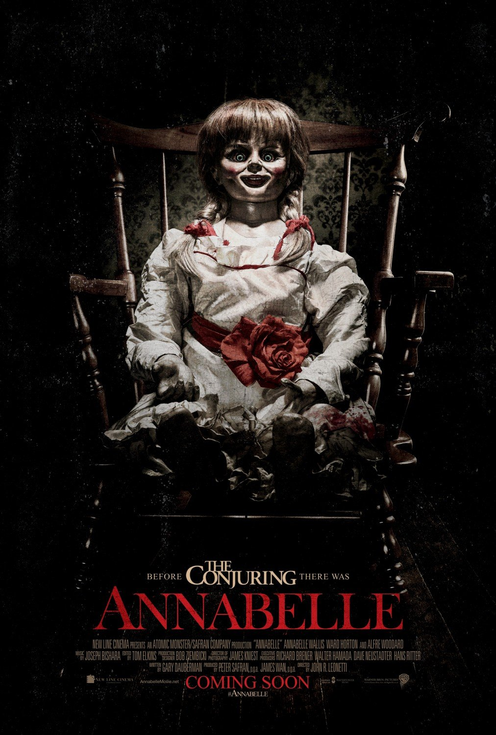 Image result for Annabelle, 2014
