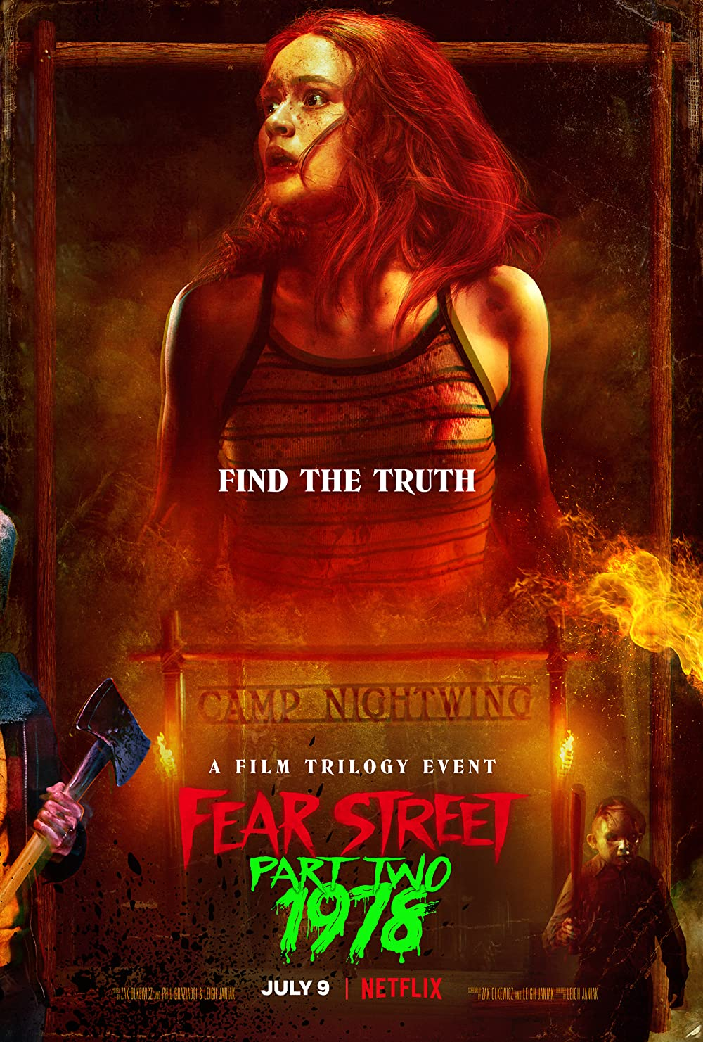 Fear Street Part Two 1978 2021 Hindi ORG Dual Audio 720p NF HDRip MSub 800MB x264 AAC
