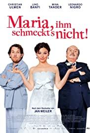 Maria, He Doesn't Like It Poster