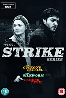 Tom Burke and Holliday Grainger in C.B. Strike (2017)