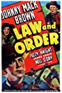 Law and Order (1940) Poster