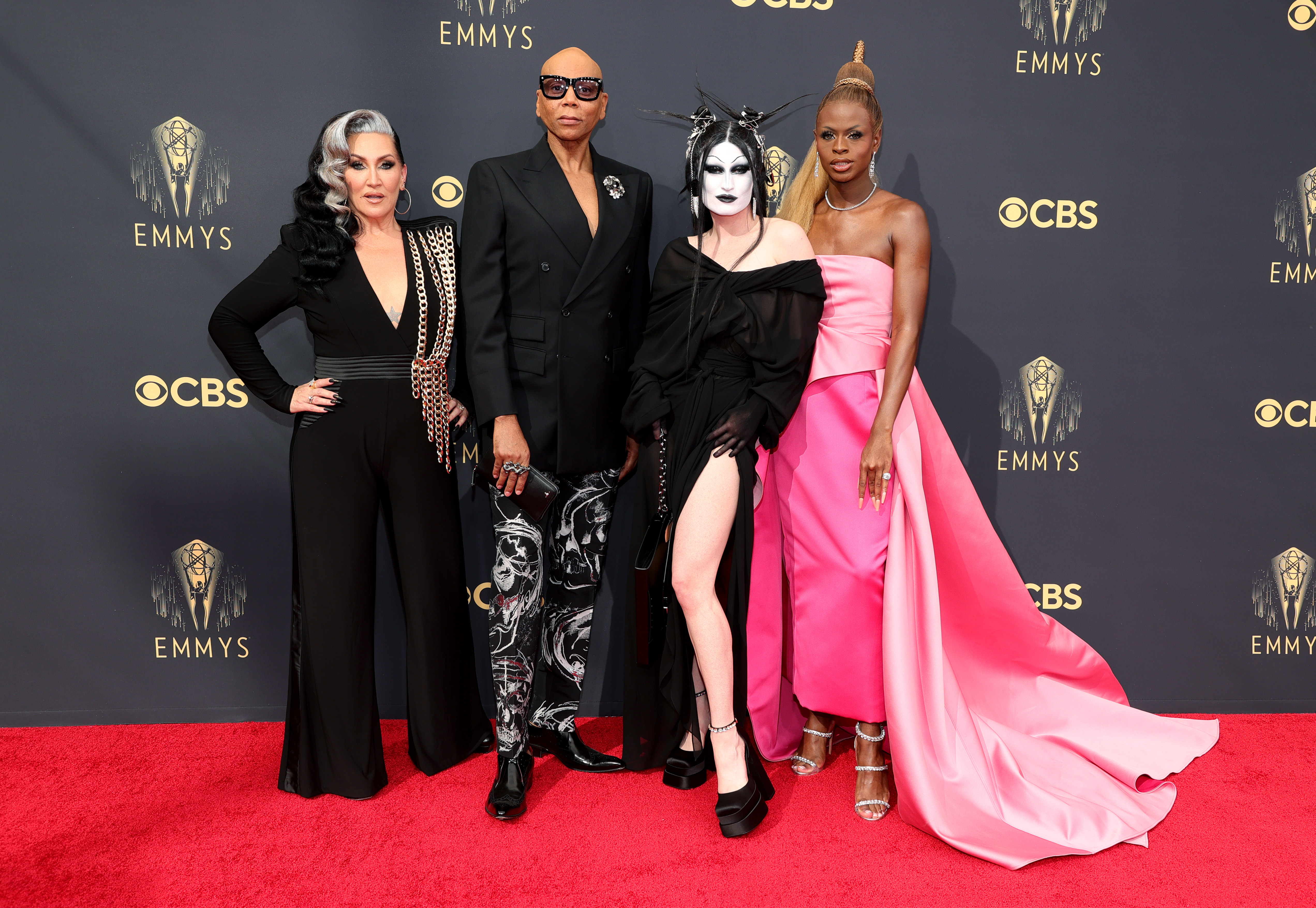 RuPaul and Michelle Visage at an event for The 73rd Primetime Emmy Awards (2021)